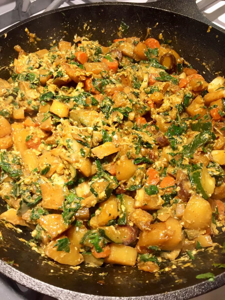 Potato & Veggie Skillet